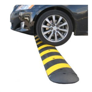 Recycled Rubber Speed Bumps